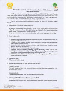 Rekomendasi Penunjukan Auditor 2017 1